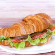Сэндвич лосось кондитерская фрау бротхен