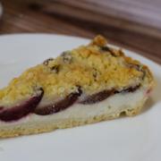 Сливовый пирог кондитерская фрау бротхен