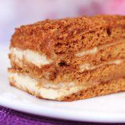 Пирожное Рыжик кондитерская фрау бротхен